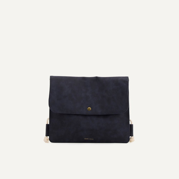 Rucksack String Backpack blue | Monk and Anna