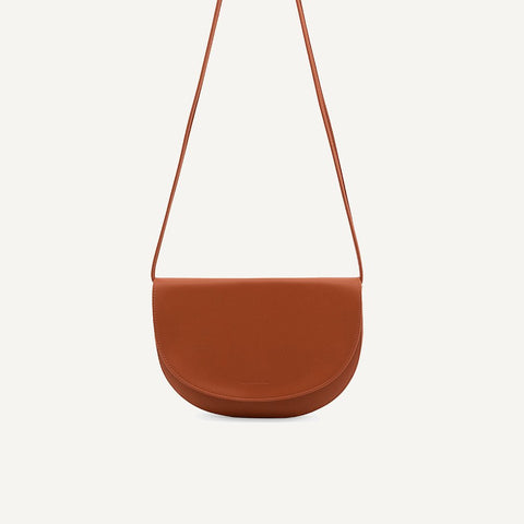 Soma half moon bag burnt orange | Monk and Anna