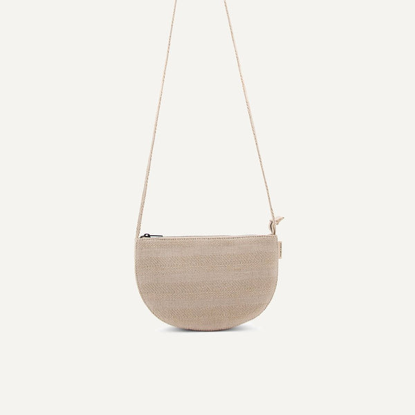 Leinen Tasche Farou Half Moon | Monk and Anna