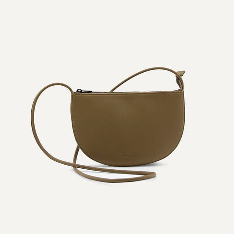 Farou half moon bag olive | Monk and Anna
