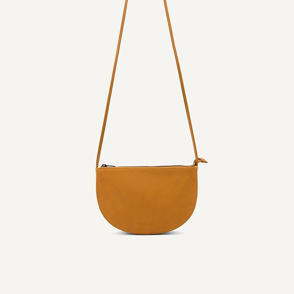 Farou half moon bag honey | Monk and Anna