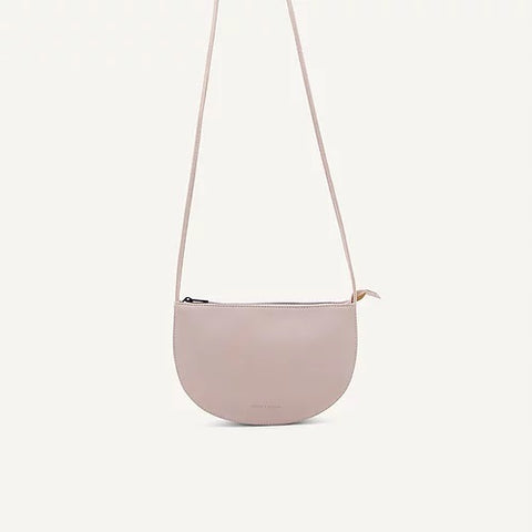 Farou half moon bag nude | Monk and Anna