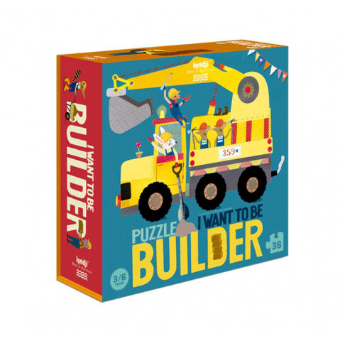 I WANT TO BE... BUILDER Puzzle Londji