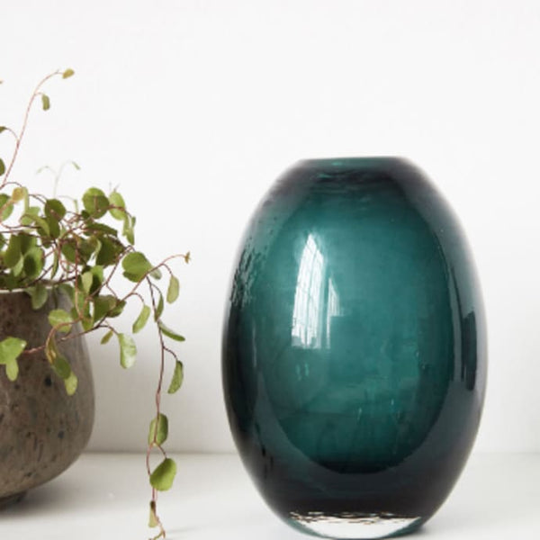 Ball Vase Blue / Green