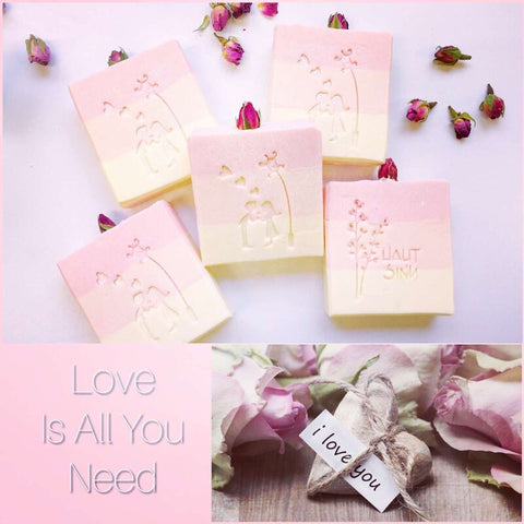 La Vie en Rose Vegan Soap Hautsinn