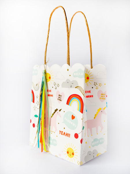 meri meri Party Bag Unicorn Papiertasche