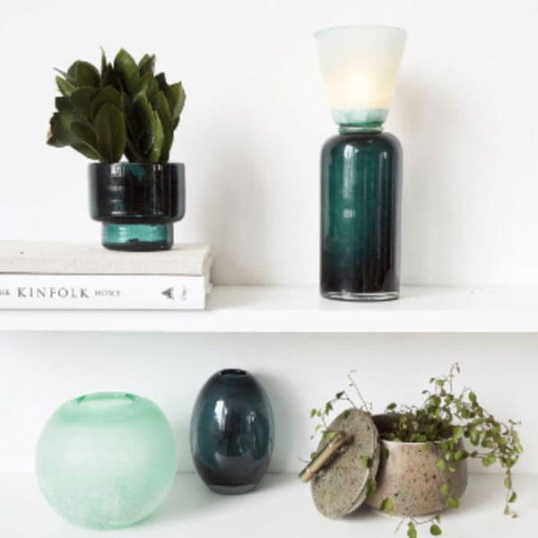 Green Frost Vase RD