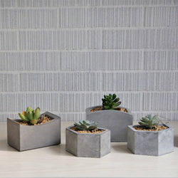 Cement Table Organizer