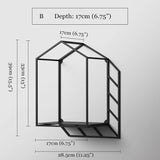 3D Geometric Wall Shelf