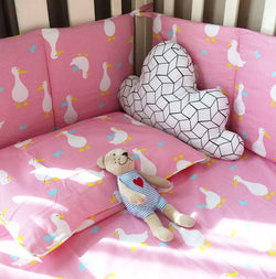 Darling Duck Crib Bedding Set