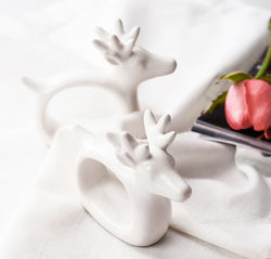 Ceramic Deer Napkin Ring