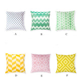 Geometric Candy Cushion Cover