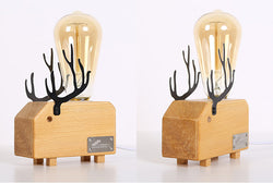 Deer Lightbulb Table Lamp