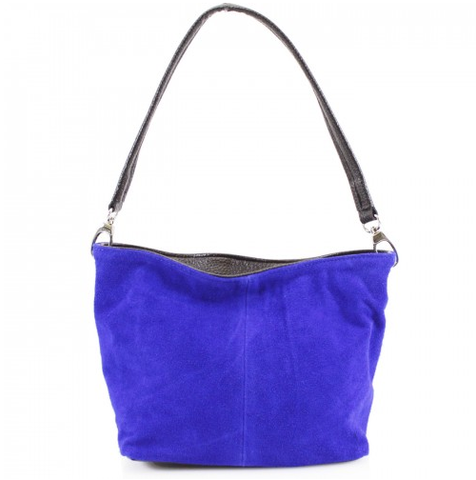 ALB Cobalt Blue Real Suede Grab Bag