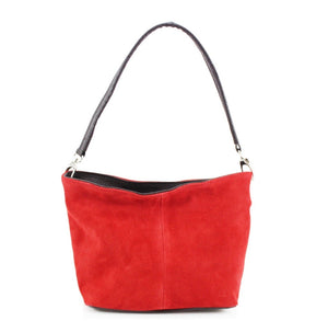 ALB Red Real Suede Grab Bag