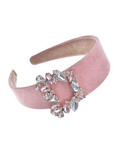 ALB Pink Jewel Square Headband