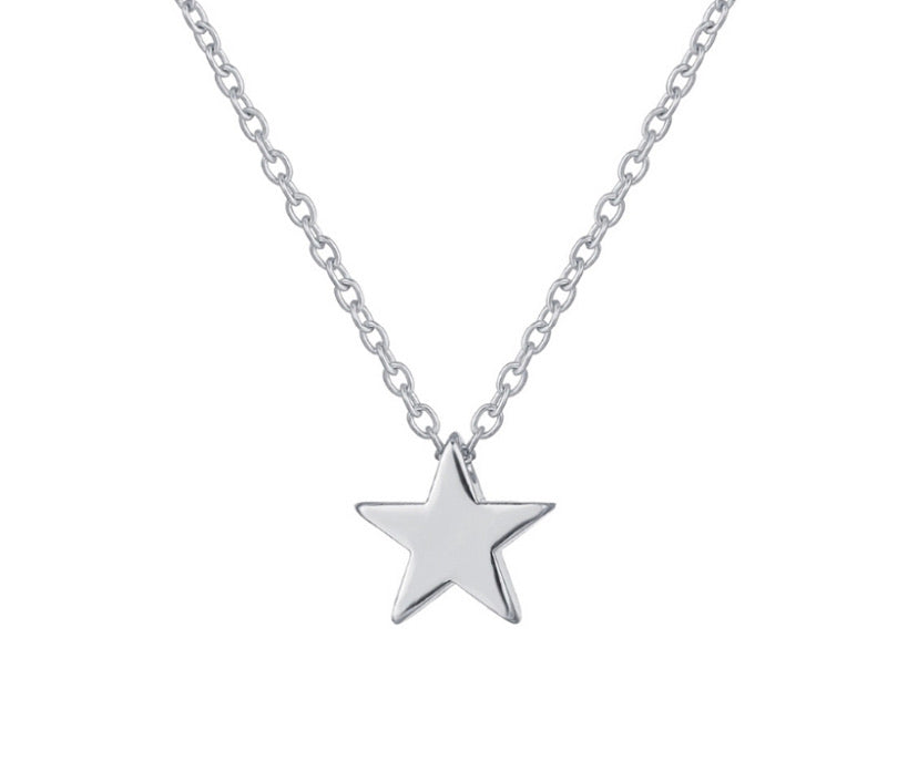 ALB Silver Star Necklace