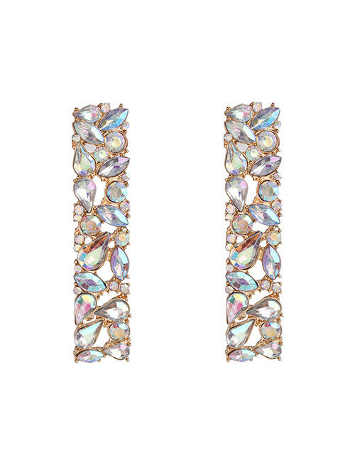 ALB AB Drop Diamante Earrings