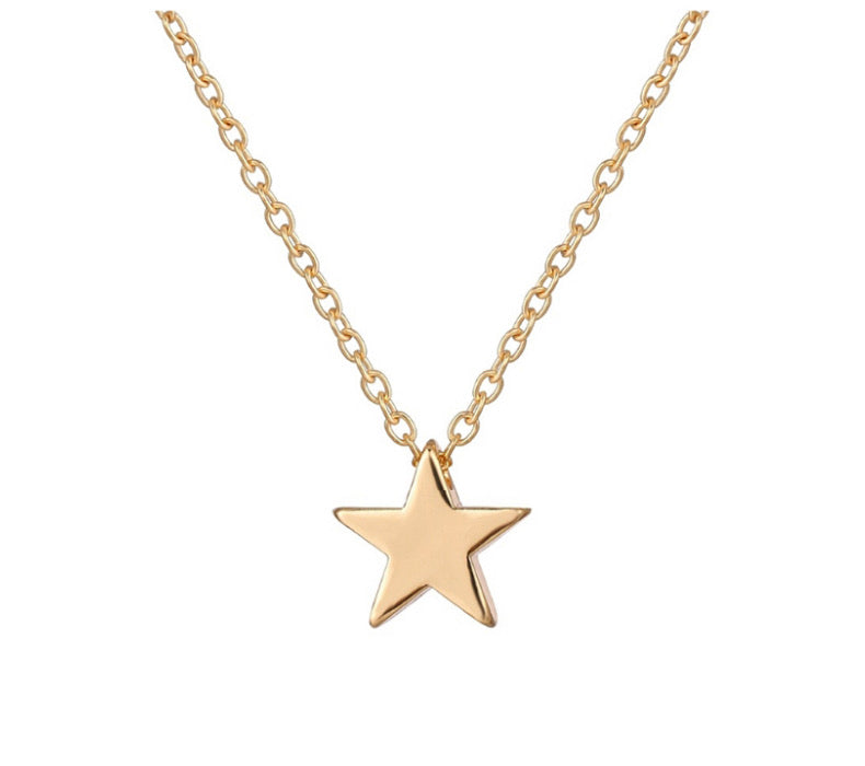 ALB Gold Star Necklace