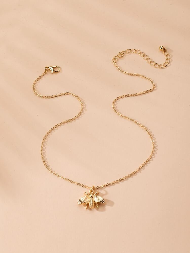ALB Gold Bee Necklace