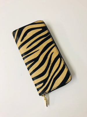 ALB Tiger Pony Hair Large Purse