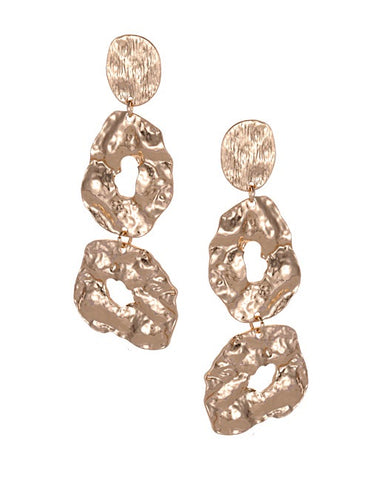 ALB Gold Irregular Shape Earrings