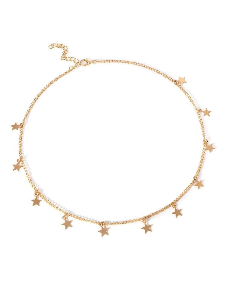 ALB Gold Stars Necklace