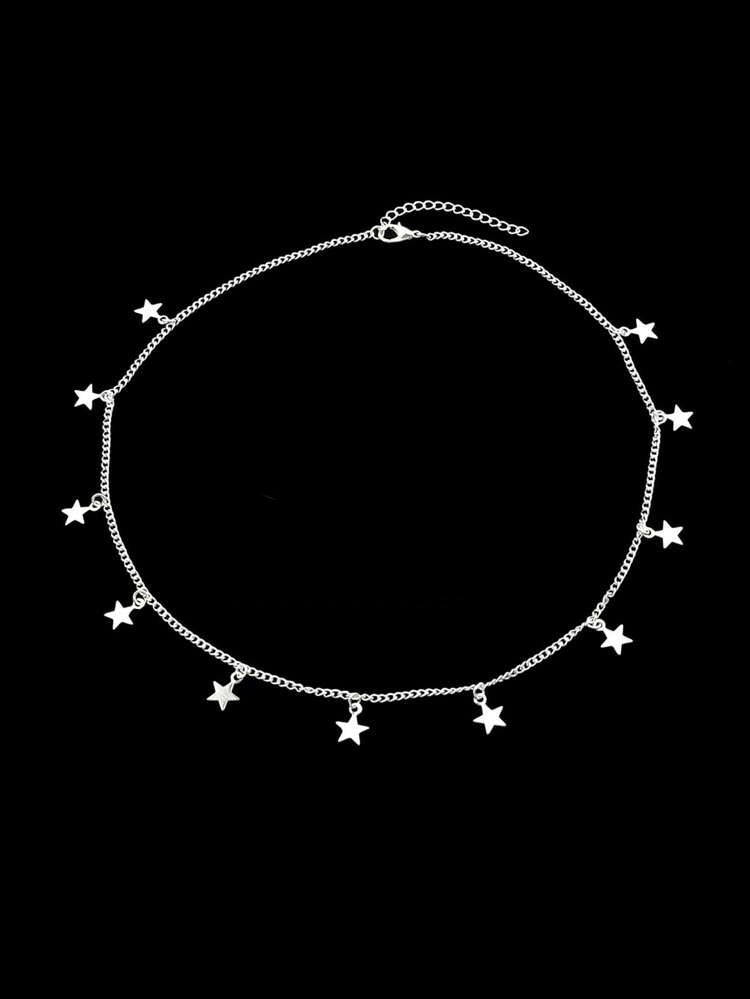 ALB Silver Stars Necklace