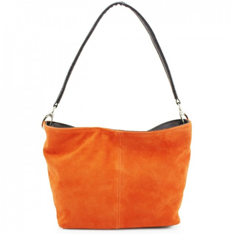 ALB Orange Real Suede Grab Bag