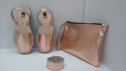 Rose Gold Metallic ALBies Range