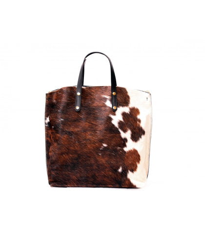 ALB Cowhide Pony Hair Leather Shopper Bag