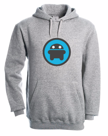 Hooded Sweater met Androidworld logo