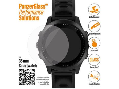 PanzerGlass screenprotector voor SmartWatches 35 mm