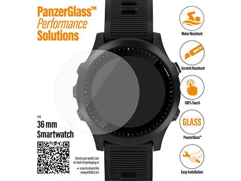 PanzerGlass Screenprotector voor SmartWatches 36 mm