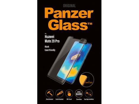 PanzerGlass  voor de Huawei Mate 20 Pro - Black Case Friendly