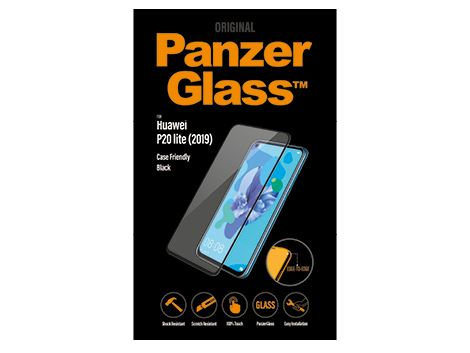 PanzerGlass voor de Huawei P20 Lite (2019) - Black Case Friendly