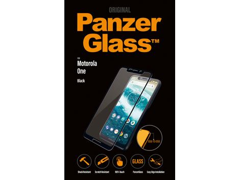 PanzerGlass screenprotector Motorola One - Black
