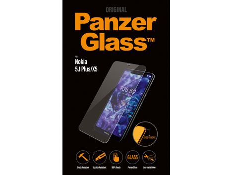 PanzerGlass screenprotector voor de Nokia 5.1 Plus