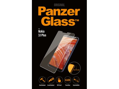 PanzerGlass Screenprotector voor de Nokia 3.1 Plus