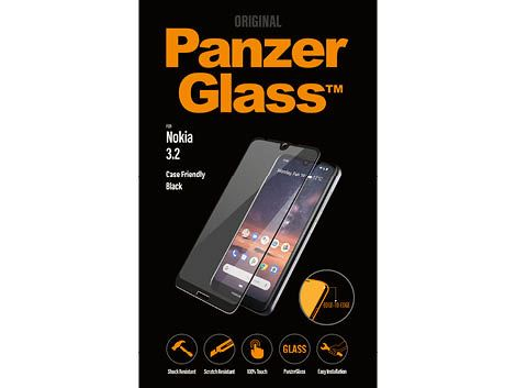 PanzerGlass screenprotector voor de Nokia 3.2 - Black Case Friendly