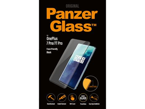 PanzerGlass voor de OnePlus 7 Pro/7T Pro - Black Case Friendly