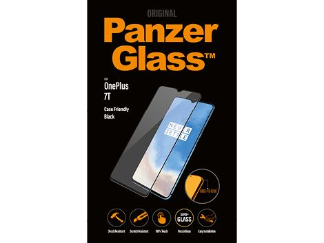 PanzerGlass voor de OnePlus 7T - Black Case Friendly
