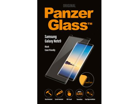Panzerglass voor de Samsung Galaxy Note9 - Black Case Friendly