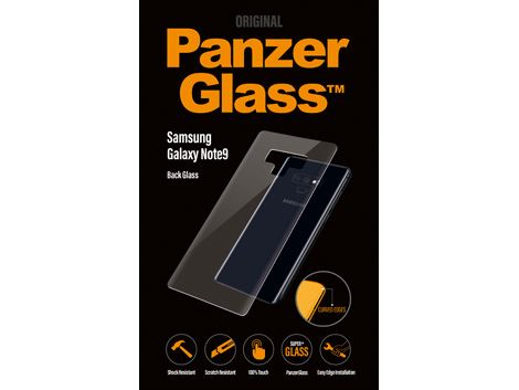 PanzerGlass voor de Samsung Galaxy Note9 - Clear - Back Glass - SUPER+ Glass