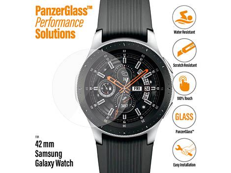 PanzerGlass screenprotector voor de Samsung Galaxy Watch 42 mm