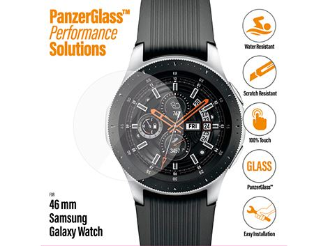 PanzerGlass Screenprotector voor de Samsung Galaxy Watch 46 mm
