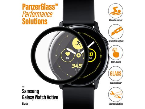 PanzerGlass screenprotector voor de Samsung Galaxy Watch Active - Black
