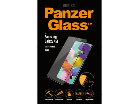 PanzerGlass screenprotector voor de Samsung Galaxy A51 - Black Case Friendly