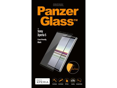 PanzerGlass screenprotector voor de Sony Xperia 5 - Black Case Friendly