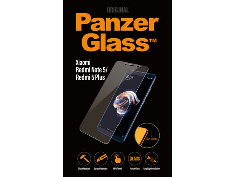 PanzerGlass Screenprotector voor de Xiaomi RedMI NOTE 5 / RedMI 5 PLUS - Clear